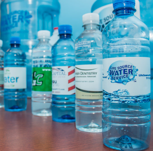 Bottled water from LivingWaterSource.com